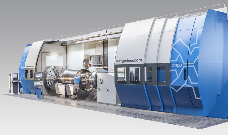 Weingärtner fleroperasjonsmaskin modell mpmc-2000
